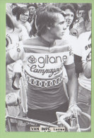 Lucien VAN IMPE. Photo Format 10 X 15. 2 Scans - Cyclisme