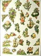 27 Découpis, Petits Bouquets De Fleurs, Non Collés - Flores