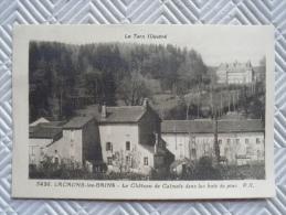 """Dt2/164 - Belle CPA Sépia:   """"LACAUNE-les-BAINS - Château De Calmels, Dans Les Bois De Pins""""    P-X - Andere Gemeenten"""