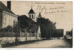 71. Charette Sur Le Doubs. Rue De L'église. Etat Moyen - France