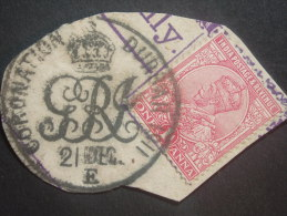 A  NICE GEM   ...A CORONATION  DURBAR 1911... Post Mark - 1902-11 King Edward VII