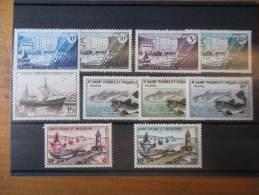 St PIERRE ET MIQUELON N°348 à357 NEUF** LUXE COTE 20  EUROS VOIR SCAN - St.Pierre Et Miquelon