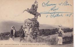 STATUE DE JEANNE D'ARC BALLON D'ALSACE(dil64) - Historische Persönlichkeiten
