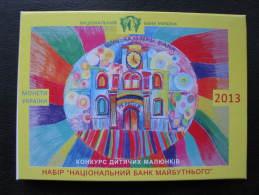 Ukraine Coins Set Coins For Circulation 2013 Year Children's Painting Competition - Ukraine