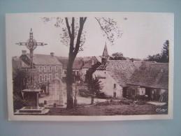 8.10)-12.huparlac.aveyron .place Du Monument.hotel Raffy - France