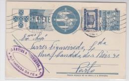 Portugal - Entier Postal 1941 - Stationery - Pre Paid - Alfandega Da Fé Pour Porto - Entiers Postaux