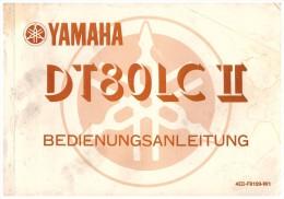 Betriebsanleitung , Handbuch - Yamaha DT 80 , 85 Seiten , Mit Schaltplan , DT80 !!! - Motorräder