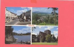 GB:  WALES- BRECON Multivues - Breconshire