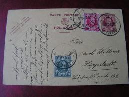 == Belgien Karte 1928  Eurpen - Ganzsachen