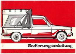 Betriebsanleitung , Handbuch - Simca 1100 , 1978 , 76 Seiten , Chrysler !!! - Cars