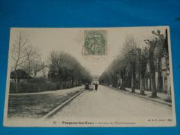 58) Pougues-les-eaux - N° 20  - Avenue De L'ètablissement   -  Année  - EDIT - B.F - Pougues Les Eaux