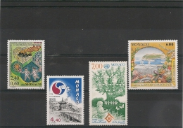 MONACO Année 1994 Evènements N° Y/T :1931-1934-1939-1944- **