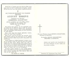 Eskens - Augustynen  Berlaar 1898 - 1961 - Godsdienst & Esoterisme