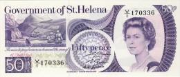 BILLET # SAINTE HELENE  # 1979 # CINQUANTE PENCES # PICK 5 # NEUF # - Sainte-Hélène