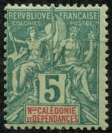 Nouvelle Caledonie (1892) N 44 * (charniere)