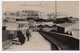 TANGER - LA RUE DE LA DOUANE - Tanger