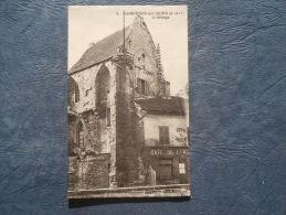 Carrières Sur Seine - L'Abbaye - Café - Ed. Malcuit 5 - Circulée - L142C - Carrières-sur-Seine