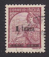 Portuguese India, Scott #456, Used, Portugal And Vasco Da Gama´s Flagship Surcharged, Issued 1941 - Portuguese India
