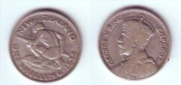 New Zealand 1 Shilling 1935 - New Zealand