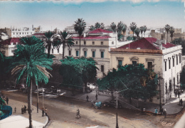 AFRIQUE,AFRICA,AFRIKA,MAG HREB,TUNISIE,TUNISIA,TUNI S,vue Aérienne,animée,voiture De Luxe,architecture Française - Cartes Postales