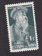 Portuguese India, Scott #469, Used, Alfonso De Albuquerque, Issued 1946 - Portuguese India