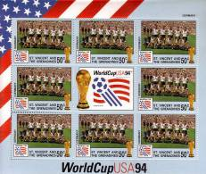 SAINT VINCENT GRENADINES  BF  ( Allemagne )  **  Cup 1994 Football  Soccer Fussball - World Cup