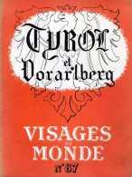 REVUE N° 87 VISAGES DU MONDE TYROL ET VORARLBERG INNSBRUCK BREGENZERWALD - History