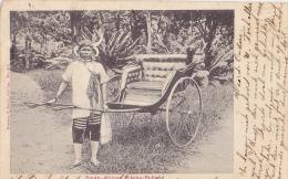 SOAF2  --   SOUTH AFRICAN  RIKSHA - PULLER  --  1908 - Südafrika