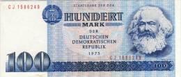 DDR 100 MARK 1975 VERY FINE - 100 Mark