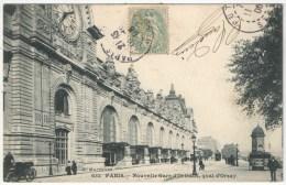 75 - PARIS 7 - Nouvelle Gare D'Orléans, Quai D'Orsay - Marmuse 632 - 1906 - District 07