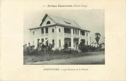 Moyen Congo  Pointe Noire Les  Bureaux  De La Douane - Pointe-Noire