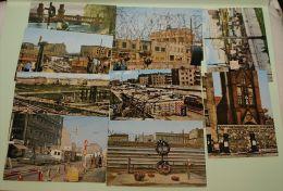 10 Mini Cartes Photo Berlin Avant La Chute Du Mur (taille 6x10 Cm) - Autres Collections