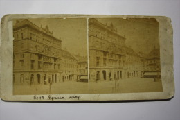 Carte Stereo - Old- Photo Stéréoscopique - AUSTRIA - WIEN - Stereo-Photographie