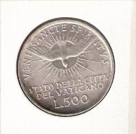 VATICAAN 500 LIRE 1978 SEDE VACANTE AG Unc- - Vatican