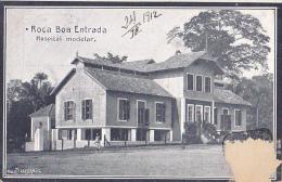 STP7  --  ROCA  BOA ENTRADA  --  HOSPITAL MODELAR    --  1912 - Sao Tome And Principe