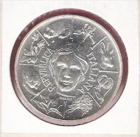 ITALIE 500 LIRE 1991 FLORA EN FAUNA AG BU - Commémoratives