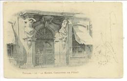 83 - TOULON - La Mairie, Cariatides De Puget - N° 119 - Cpa Précurseur Voyagé 1902 - Toulon