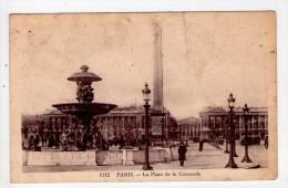 CP 9*14/AE1120/PARIS PLACE DE LA CONCORDE 1940 - Arrondissement: 08