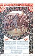 #2073 Militaria, Postcard Mailed 1915: WW1, For  The Division Artillery 13, By Richard Harlfinger - Altre Illustrazioni