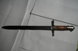Rare Et Ancienne Ancienne Baionnette - Knives/Swords