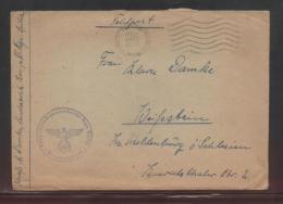 GERMANY 1941 THIRD REICH FELDPOST COVER FLIEGERHORSTKOMMANDANTUR RIGA-SPILVA - Covers & Documents