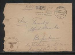 GERMANY 1941 THIRD REICH FTFELDPOST 31508 COVER 7. Zug Landesschutzen-Kompanie Der Luftwaffe  1/I - Covers & Documents