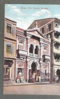 INDIE INDIA PARSEE FIRE TEMPLE BOMBAY RELIGION RELIGOUS POSTCARD UNUSED - Indien