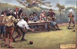 TRUCK´S - CPA -  Old English Sports - Bowls - Joueurs De Boules - Bowling