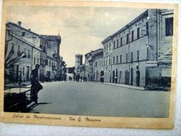 SALUTI DA MONTEMARCIANO - VIA G. MARCONI - Ancona