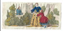 Imagerie Epinal / Pellerin ? /Bilingue Franco Allemande/La Charité En Action/ Vers 1850-1870     IM516 - Other