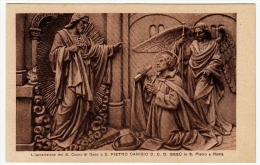 L'APPARIZIONE DEL S. CUORE DI GESU' A S. PIETRO CANISIO D. C. D. GESU´ IN SAN PIETRO A ROMA - Formato Piccolo - Saints