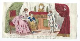 Imagerie Epinal / Pellerin ? /Bilingue Franco Allemande/Me Faire L'honneur/ Vers 1850-1870     IM517 - Other