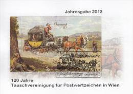 Historische Postfahrzeuge, 2013, Special Cancellation !! - Blocchi & Fogli