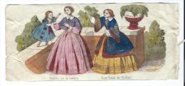 Imagerie Epinal / Pellerin ? /Bilingue Franco Allemande/Premiére Joie De L´enfance/ Vers 1850-1870     IM518 - Other